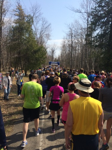 My last race- The Door County Half Marathon in Door County, Wisconsin
